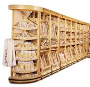 Présentoir à pain avec angle - Hauteur : 220 cm