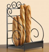 Présentoir baguettes en métal - Dimensions : 35 x 63 x 10 - Métal