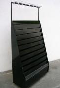 Présentoir carterie Noir - Noir - 11 rangs de carte + reserve - P40 9005