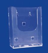 Présentoir comptoir plexiglas A4 - Taille de l'image : A4