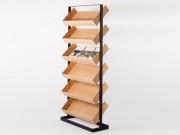 Présentoir en bois brochures et documents - Brochures et documents de format A4