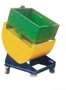 Présentoir inclineur de caisse 25° - Inclinaison maxi : 25°  -  Barre anti pince doigts