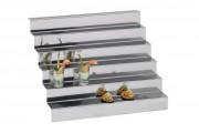 Présentoir inox 6 niveaux - 400518