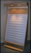 Présentoir luminaire - Gamme PRESTIGE luminaire - PxLxH: 45x100x218