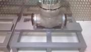 Présentoir métallique à poser - Fabrication sur-mesure
