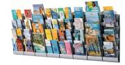 Présentoir mural intégral - Format : A4, 1/3 A4 ou A5 - 4 Cases
