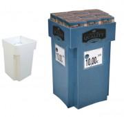 Présentoir personnalisable en carton - Dimensions : l 490 x H 795 mm