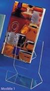 Presentoir plexiglas polyvalent - Livré monté