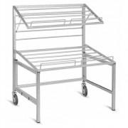 Présentoir pliable pour fruits et légumes - Dimensions 2 à 3 niveaux : L1000 x P740 x H1200 /1700 cm