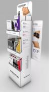 Présentoir PLV publicitaire - Mettre en ligne plus de 100 produits avec leur prix