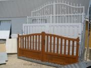 Présentoir portails et portillons - Pour exposition de portails