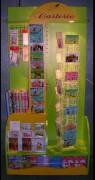 Présentoir pour carte 40 x 100 - PxLxH: 40x100x206