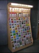 Présentoir pour cartes Luminaire