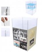 Présentoir publicitaire en plastique - Dimensions :505 x 505mm