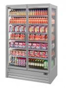 Présentoir réfrigéré à boisson - Capacité par litres : 140 et 220