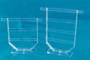 Présentoirs boucles d'oreilles et colliers - Supports plexiglas pour B.O