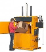 Presse à balle carton 300 Kg - Poids des balles de carton : 250 – 300 kg