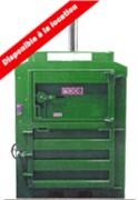 Presse à balle de déchets 8 T - Force de compression Jusqu'à 8 tonnes