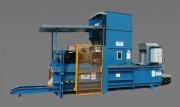 Compacteur horizontal automatique 45 à 50 tonnes - Poids moyen d'une balle : 450 à 600 kg