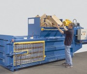Presse à balle horizontale hydraulique - Force de compression : 8 - 40 to
