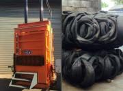 Presse à balle pour pneumatique - Balle jusque 750 kg