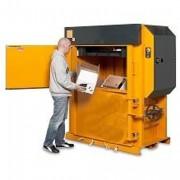 Presse à balles carton 150 Kg - Poids des balles de carton : 150 – 250 kg