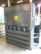 Presse à balles verticale 500 kg de carton - Poids de balle (kg) : jusque 500 kg (cartons)