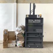 Presse à balles verticale 60 kg - Poids de balle (kg) : de 50 à 60 kg (carton)