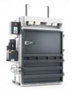 Presse à balles verticale à clavier tactile - Poids de balles : 250 kg