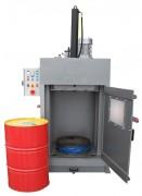 Presse à fût 200 et 220 litres - Force de compactage : 17 et 25 tonnes