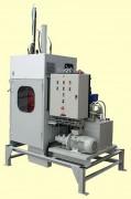 Presse à fût rinçage automatique - Pression de compaction : 18 - 29 tonnes