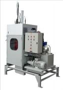Presse à futs bidons et boites métalliques - Pression de compaction en tonnes :18 - 29