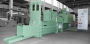 Presse à paquet - Force de compression : 65 ou 120 tonnes