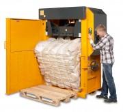 Presse à plastique - Poids de balles de plastique : 350 à 450 kg