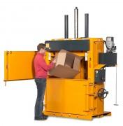 Presse balle carton 500 kg - Poids des balles de carton : 400 – 500 kg