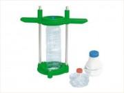 Presse bouteille plastique manuelle - Diamètre central de 5,5 cm pour tout type de goulot