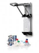 Presse bouteilles et canettes - Hauteur (cm) : 50