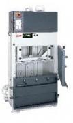 Presse carton compacte - Construction compacte et robuste