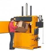 Presse carton grande échelle - Poids des balles de carton : 200 – 250 kg