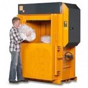 Presse carton porte automatique - Poids des balles de carton : 280 – 350 kg