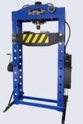 Presse d'atelier hydraulique 20/30/50 tonnes - Commande manuelle ou par pédale