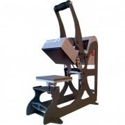 Presse de marquage à linge - Puissance : 600 W - Dimensions plateau : 150 x 150 mm