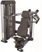 Presse de musculation Deltoïdes en acier - Charge max: 78 Kg - Norme européenne EN957