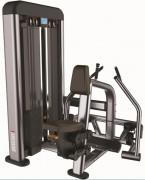 Presse de musculation Dorsaux Rowing - Charge max : 90 Kg - Norme européenne EN957