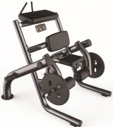 Presse de musculation Ischio-jambiers 100 Kg - Charge max : 100 Kg - Dimensions L x l x H : 1270 x 1434 x 1330 mm