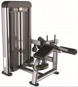 Presse de musculation Ischio-jambiers allongé - Charge max : 78 Kg  -  Norme européenne EN957