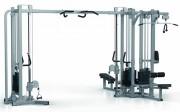 Presse de musculation jungle machine - Charge max : 132 Kg