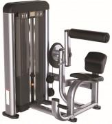 Presse de musculation Lombaires - Charge max: 78 Kg  -  Dimensions L x l x H : 1240 x 1220 x 1580 mm