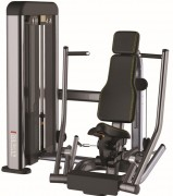 Presse de musculation pectorale en acier - Charge max : 96 Kg  -  Norme européenne EN957