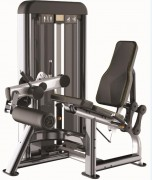 Presse de musculation Quadriceps en acier - Charge max : 96 Kg - Norme européenne EN957